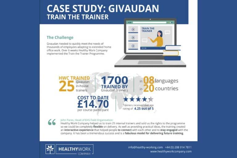 Healthy Work Company Givaudan Case Study